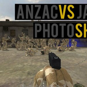 ANZAC VS JAPAN : Photoshoot